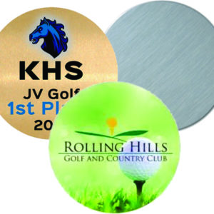 sublimation trophy disk colors