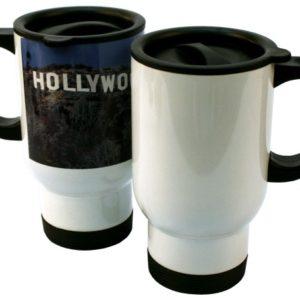 white stainless steel sublimation mug