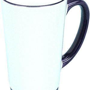sublimation rim handle funnel mug