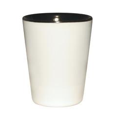 Black Ceramic sublimation Shot glass