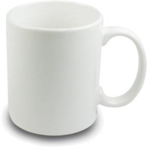 15 oz white sublimation mug