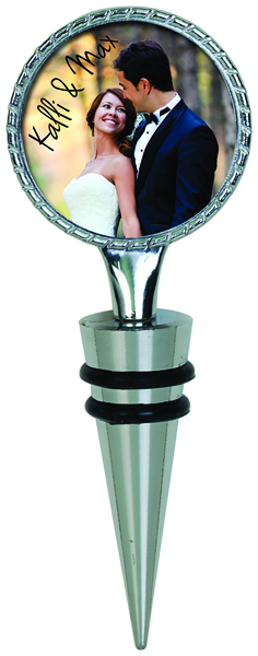 sublimation wine topper