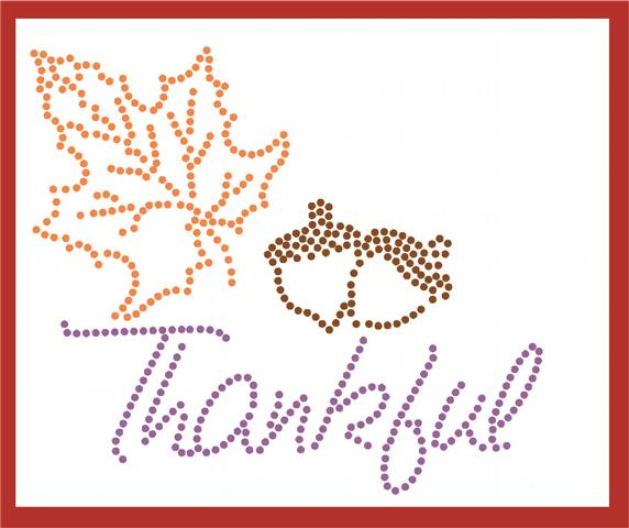 Thankful stencil Free download of the Week, 3 stencils