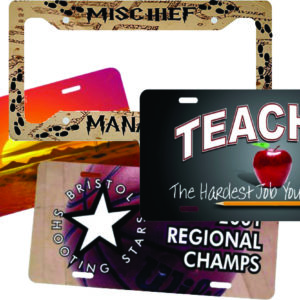 License Plates for Sublimation