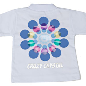 Crazy Crystals T Shirt Vinyl