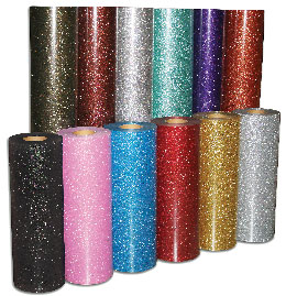 Glitter Decal Material