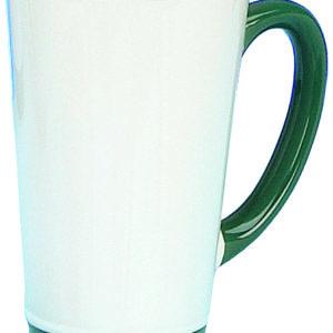 sublimation rim handle funnel mugs
