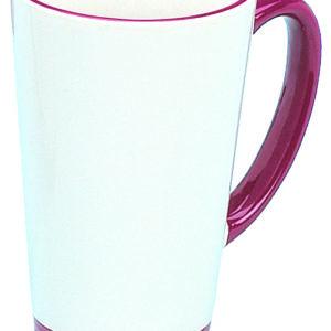 rim handle funnel mug