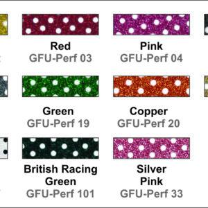 Glitter Flex Ultra Perf Colors