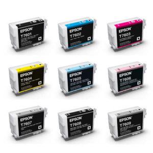 P600 Epson Inks