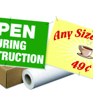Outdoor Banner Material