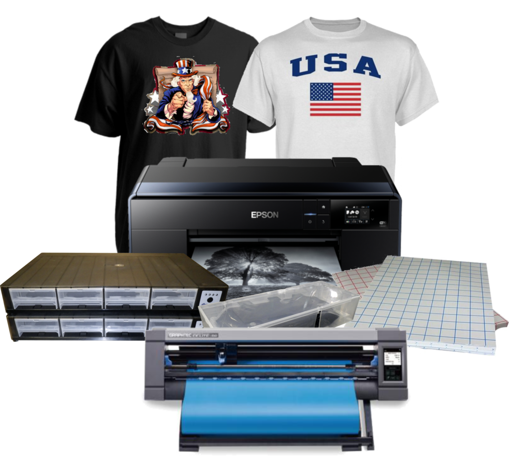 P600 Epson 13x19 Printer With Csi System With Textile Inks