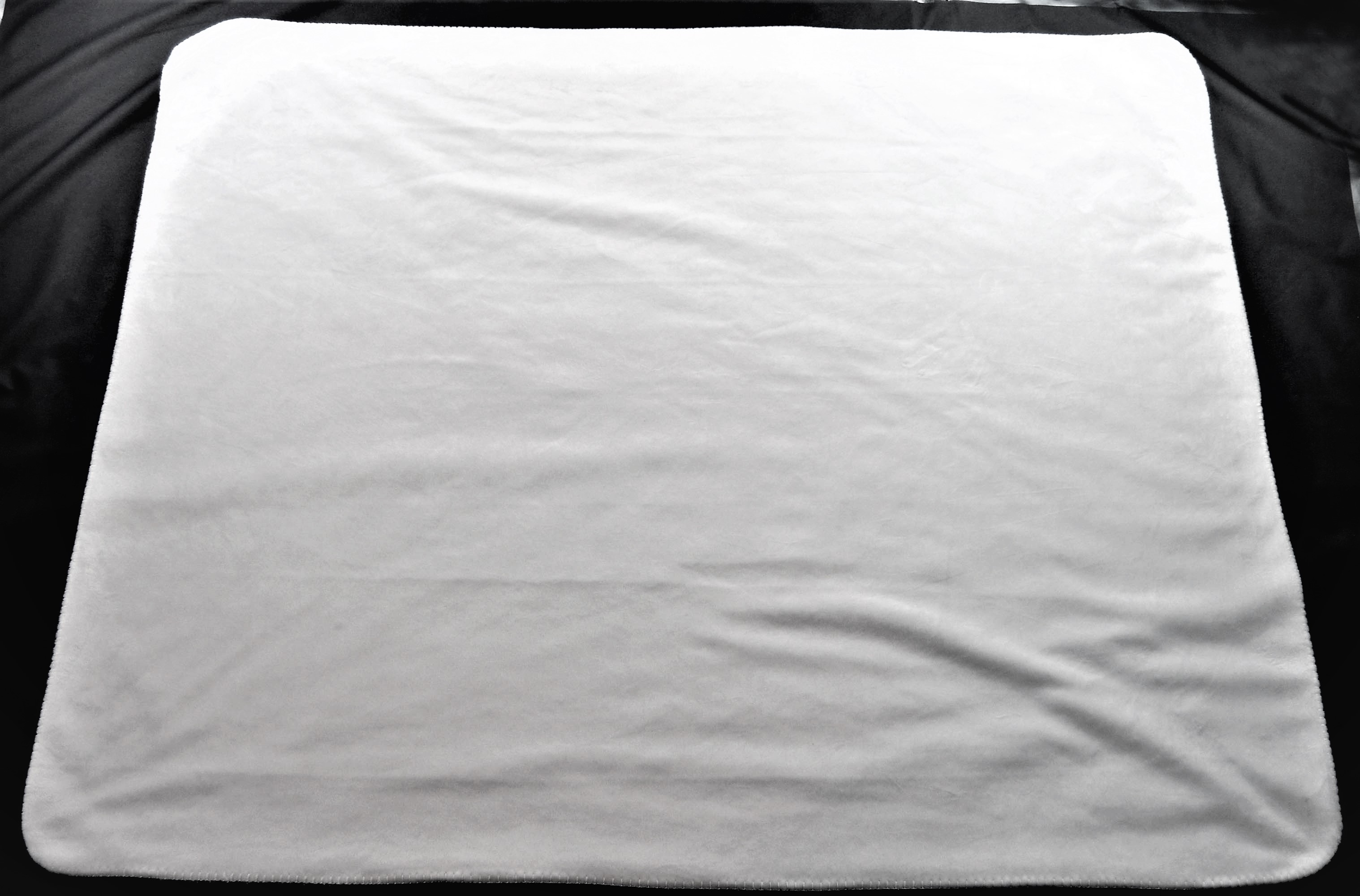 Sublimation White Throw Blanket Sublimation Micro Mink