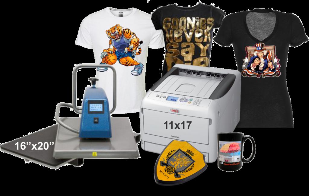 White Toner Laser T Shirt Transfer Printer Pro8432wt Color