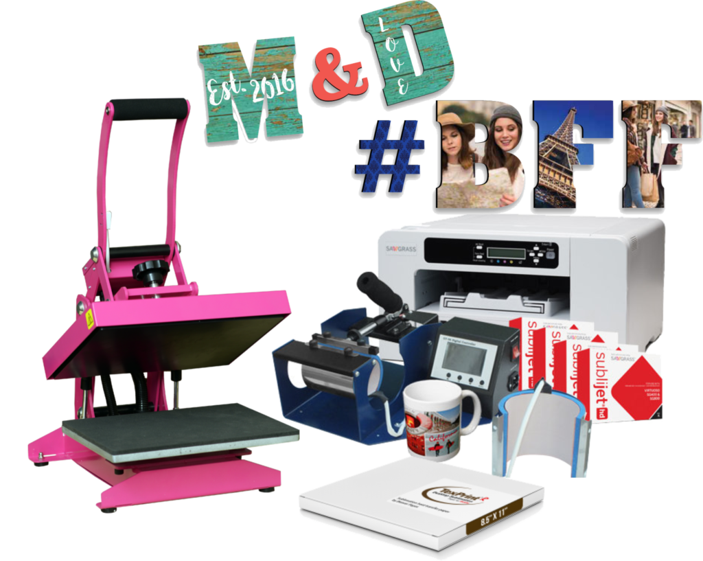 Sublimation Bundle Starter Package With Heat And Mug