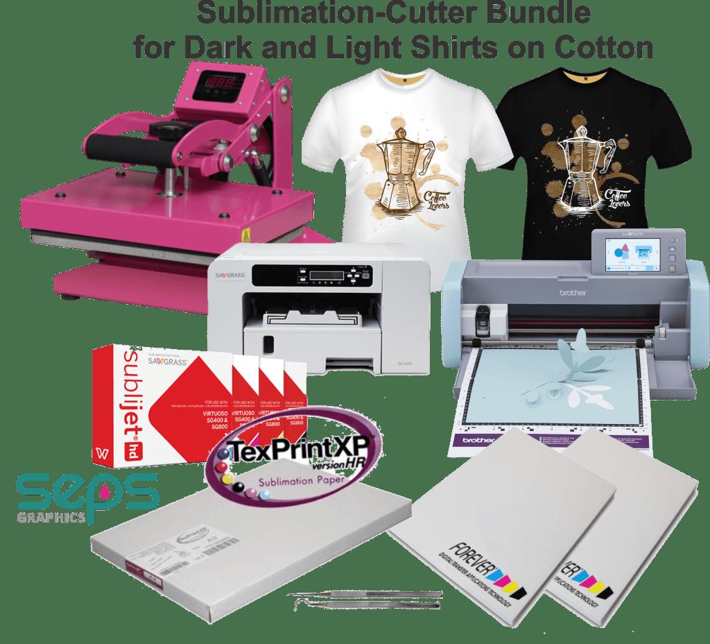 Download Sublimation, Cutter, Heat Press Equipment Bundle to Make ...